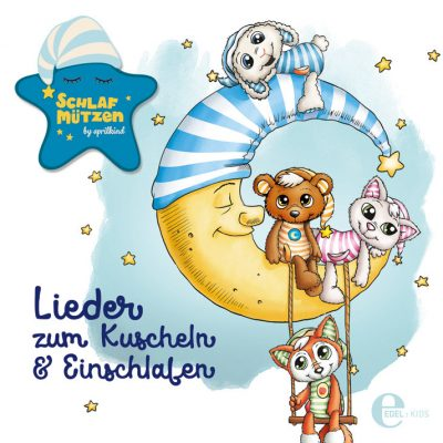 """Cover der Schlafmützen-CD """"Lieder zum Kuscheln & Einschlafen"""